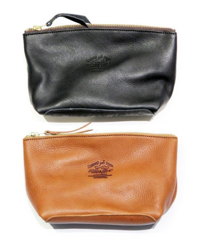 THE SUPERIOR LABOR / Leather Pouch L Washed