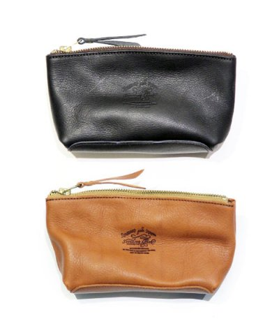 THE SUPERIOR LABOR / Leather Pouch S Washed
