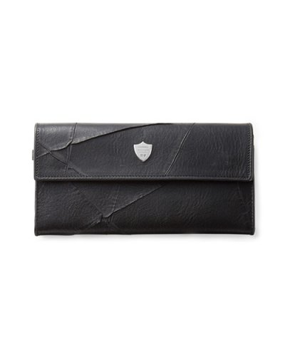 GARNI / Insection Flap Long Wallet:Black