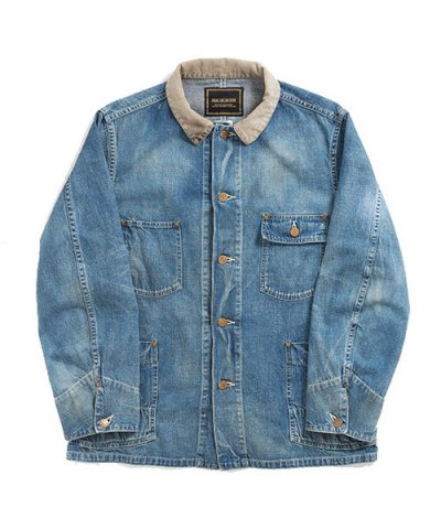 ANACHRONORM / WASHED DENIM RAIL ROAD JACKET