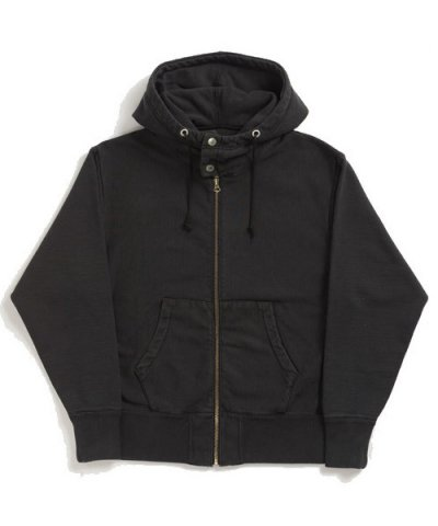 ANACHRONORM / ZIP UP HOODED SWEATSHIRT