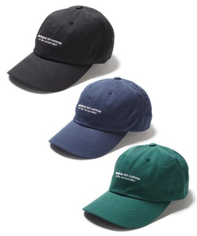 BAL / dot comme LOW CROWN 6-PANEL