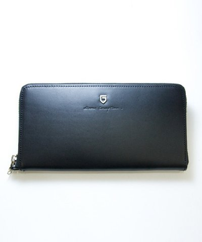 GARNI / '15 Sign Zip Long Wallet:BLACK