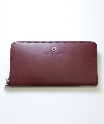 GARNI / '15 Sign Zip Long Wallet:BORDEAUX