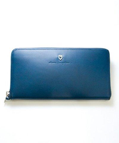 GARNI / '15 Sign Zip Long Wallet:NAVY