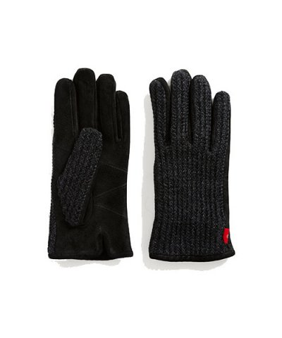 ANACHRONORM / SUEDE KNIT MIX GLOVE