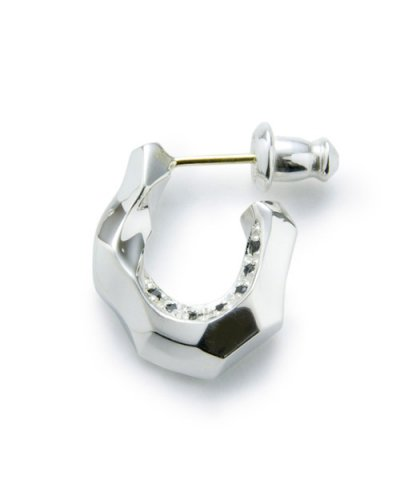GARNI / Horse Shoe Pierce w/c - Left Black