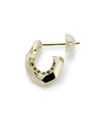 GARNI / K10 Horse Shoe Pierce w/d - Left Black