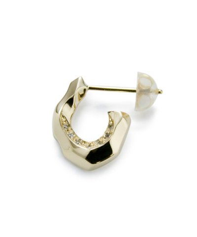 GARNI / K10 Horse Shoe Pierce w/d - Left Clear