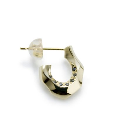 GARNI / K10 Horse Shoe Pierce w/d - Right Black