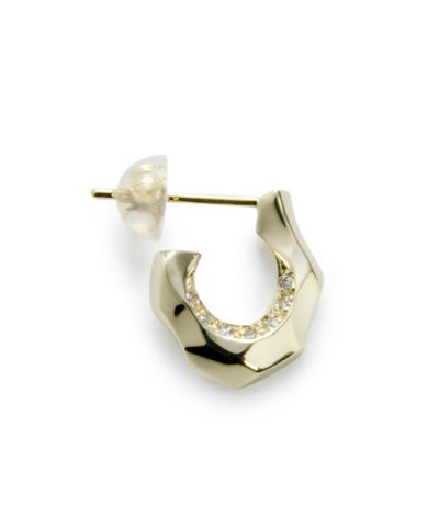 GARNI / K10 Horse Shoe Pierce w/d - Right Clear