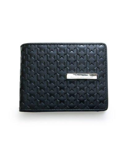 GARNI / Hound Tooth Fold Wallet:Black