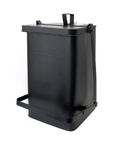 PUEBCO / STEP TRASHCAN:BLACK