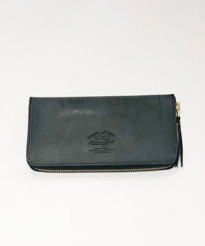 THE SUPERIOR LABOR / Wax Leather Zip Long Wallet