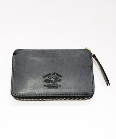 THE SUPERIOR LABOR / Wax Leather Zip Middle Wallet