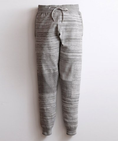 FDMTL / JOG PATCHWORK PANTS:GRAY