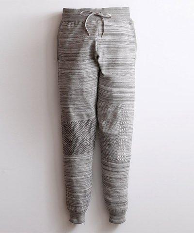 FDMTL / JOG PATCHWORK PANTS:GRAY