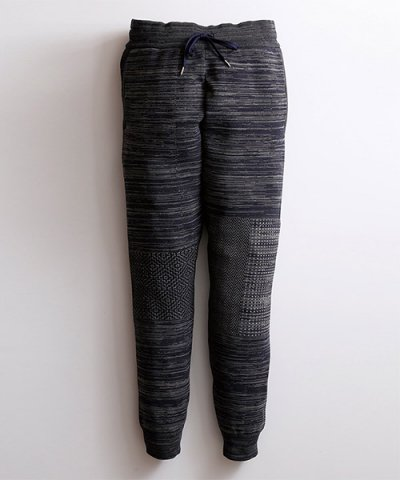 FDMTL / JOG PATCHWORK PANTS:NAVY