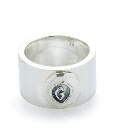 GARNI / G Stamp Chip Ring