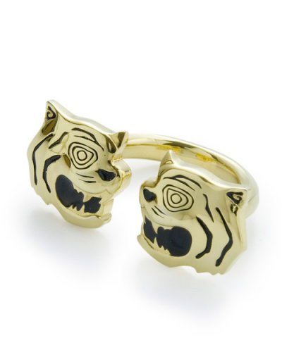 GARNI / Twin Tiger Ring-GOLD