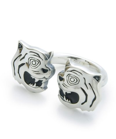GARNI / Twin Tiger Ring-SILVER