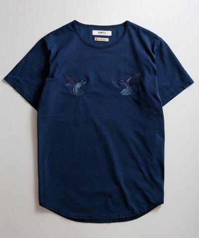 FDMTL / INDIGO HUMMINGBIRDS TEE