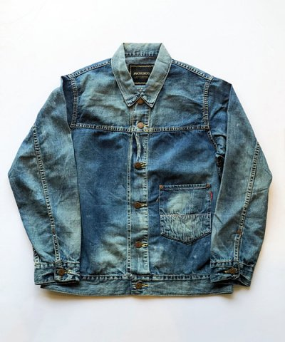 ANACHRONORM / 8oz DENIM TRUCKER JACKET