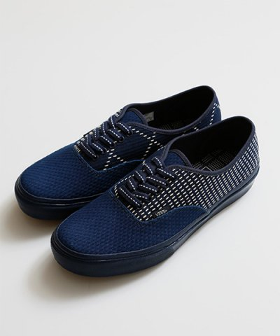 FDMTL / VANS for FDMTL 3ndSeason THE NAVY COLLECTION:AUTHENTIC