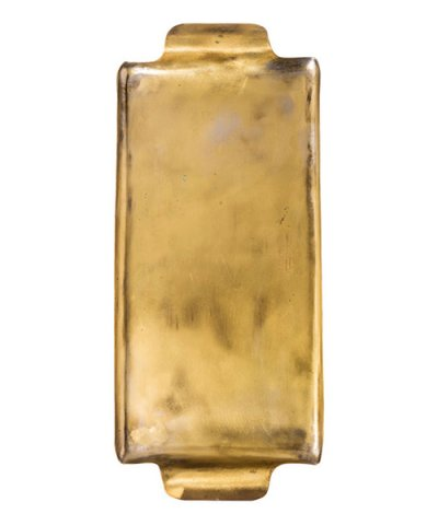 PUEBCO / BRASS RECTANGLE TRAY