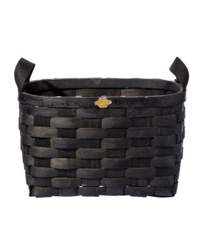PUEBCO / WOODEN BASKET BLACK Rectangle