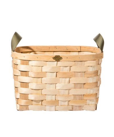 PUEBCO / WOODEN BASKET NATURAL Rectangle