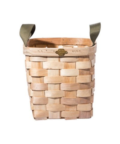 PUEBCO / WOODEN BASKET NATURAL Square