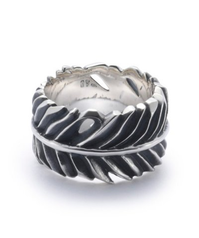 GARNI / Eagle Feather Ring - L