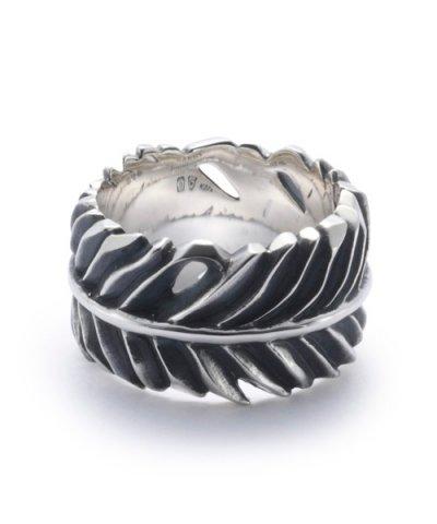GARNI / Eagle Feather Ring - L