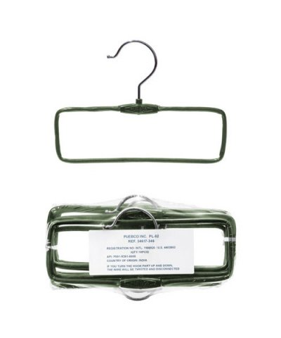 PUEBCO / PLASTIC COATED WIRE HANGER Towel