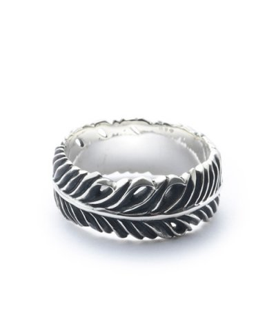 GARNI / Eagle Feather Ring - S