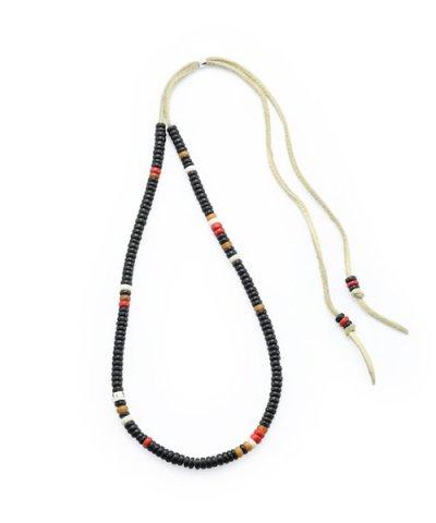 GARNI / Horn Beads Choker:Black