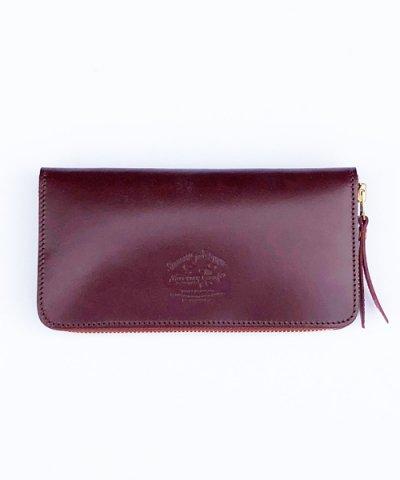 THE SUPERIOR LABOR / Bridle zip long wallet