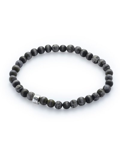 GARNI / Born Beads Anklet:BLACK