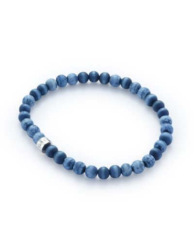 GARNI / Born Beads Anklet:BLUE