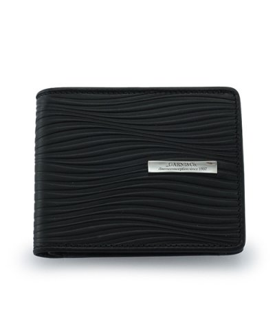 GARNI / Piled Fold Wallet:BLACK
