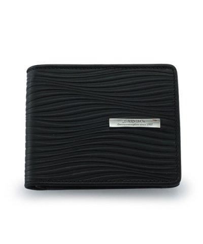 GARNI / Piled Fold Wallet:BLACK