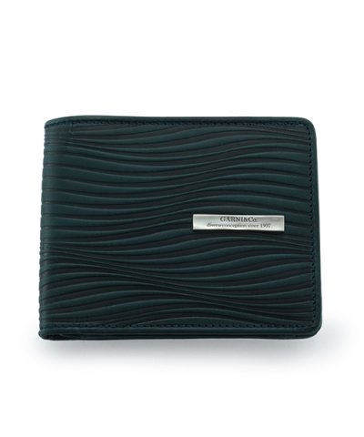 GARNI / Piled Fold Wallet:BLUE