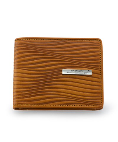 GARNI / Piled Fold Wallet:YELLOW