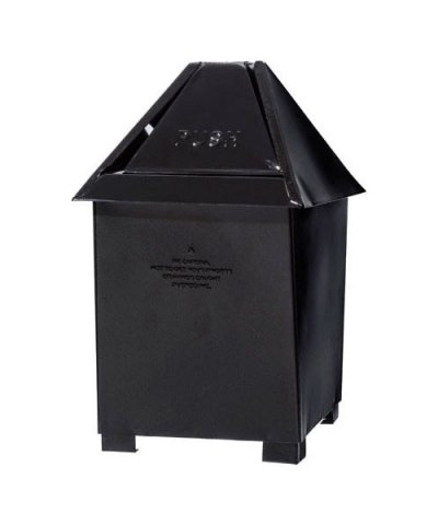 PUEBCO / TABLE TOP DUSTBIN:Black