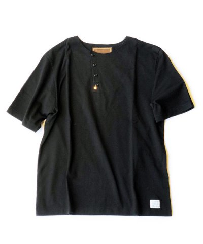 ANACHRONORM / TILTED HENLEY NECK T-S