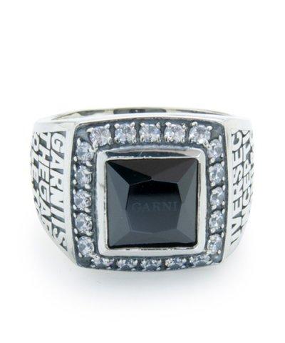 GARNI / 20th Engrave College Ring - L
