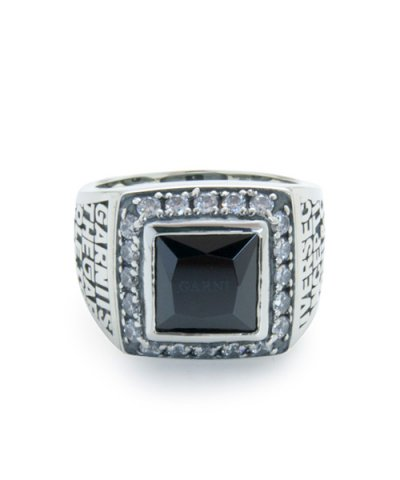 GARNI / 20th Engrave College Ring - S