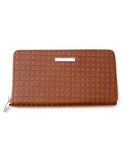 GARNI / Triangle Chip Long Wallet:BROWN