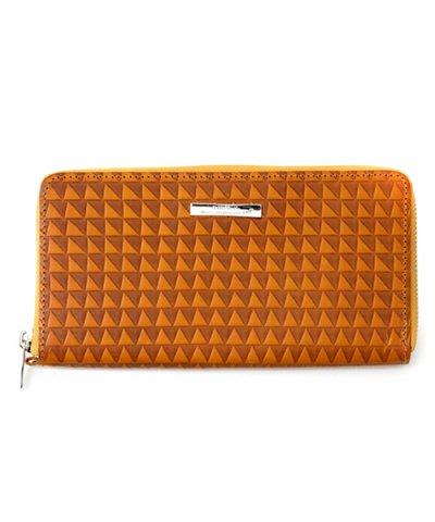GARNI / Triangle Chip Long Wallet:YELLOW